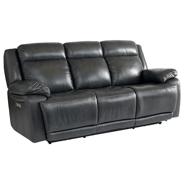 Evo Power Reclining Sofa by Bassett at Wilcox Furniture