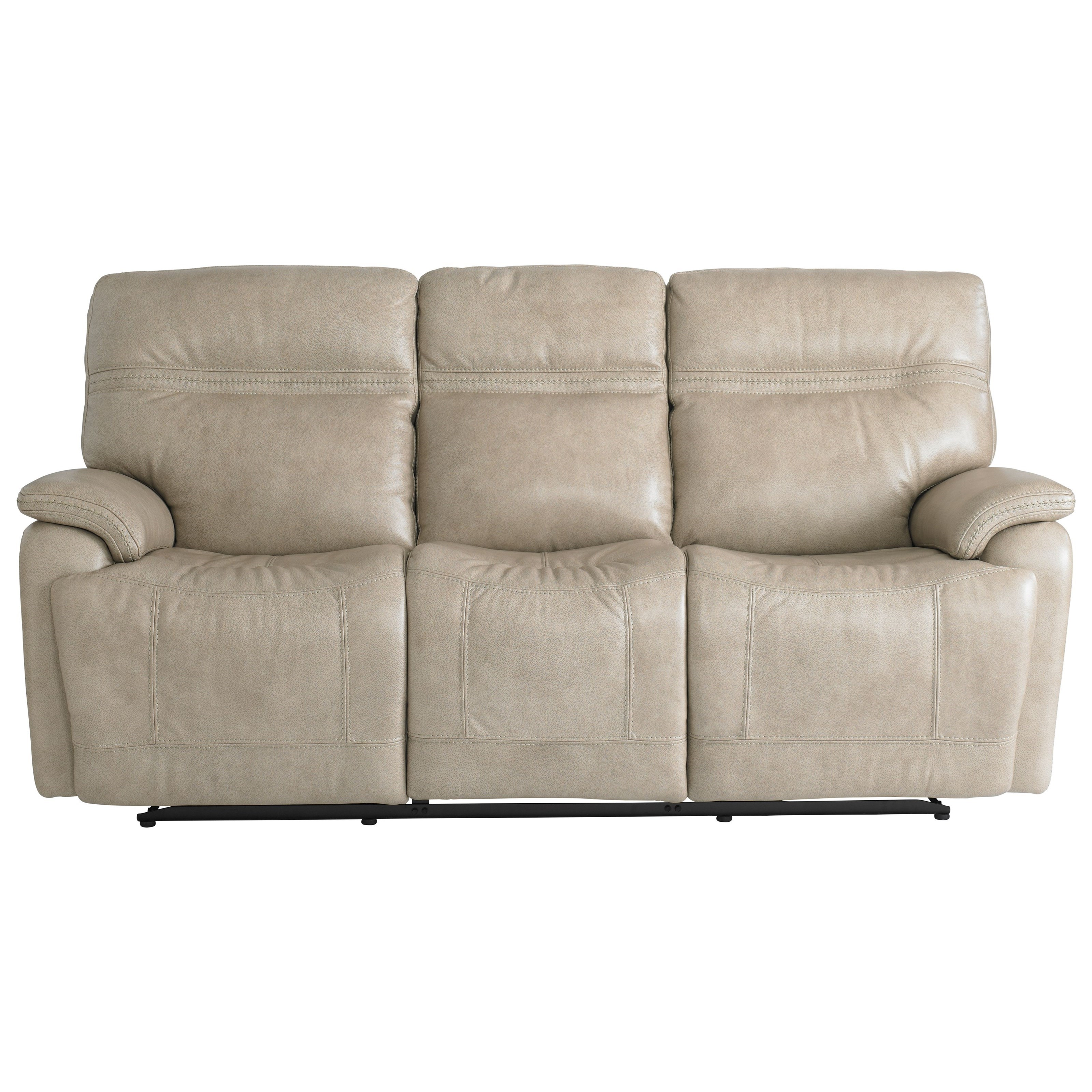 Bassett Club Level Grant Casual Power Reclining Sofa With Power