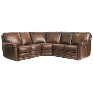 Bassett Hamilton 3958 Power Reclining Sectional