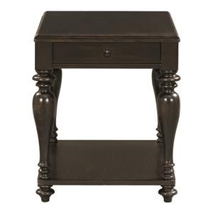 Bassett Heartland Pine Dark Side Table