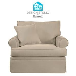 Bassett HGTV Home Design Studio Customizable Chair
