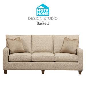 Bassett HGTV Home Design Studio Customizable Medium Sofa