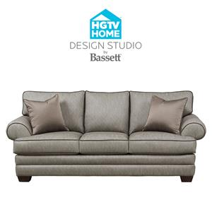 Superior Bassett HGTV Home Design Studio Customizable XL Sofa