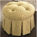 Bassett HGTV HOME Design Studio Round Ottoman - Item Number: 1000-RO TSk