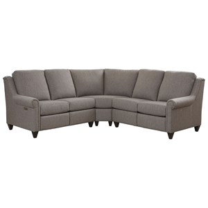 Customizable 3-Pc Power Reclining Sectional