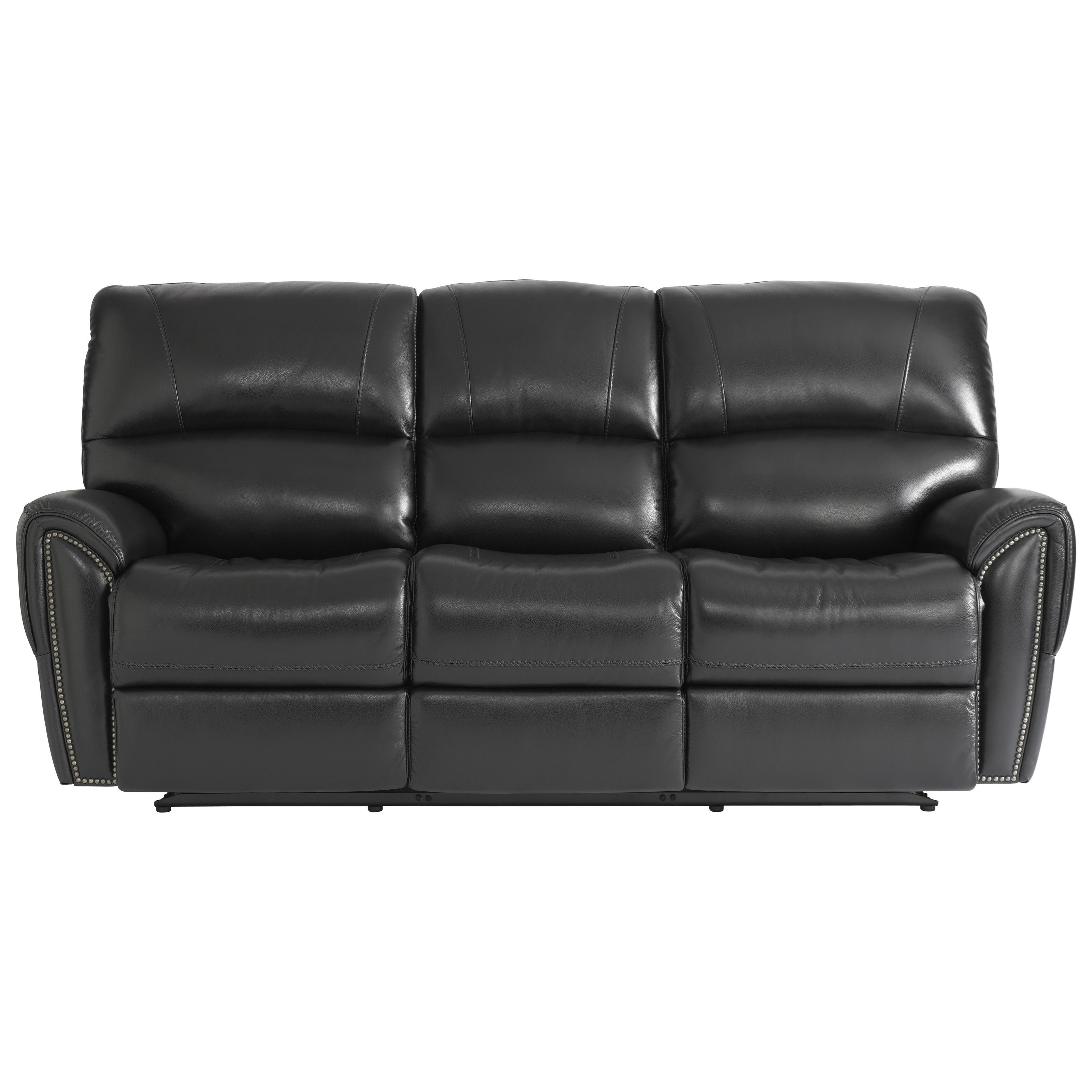 Leather Recliner Sofa Manchester: Bassett Manchester 3725-P62J Motion Sofa With Power