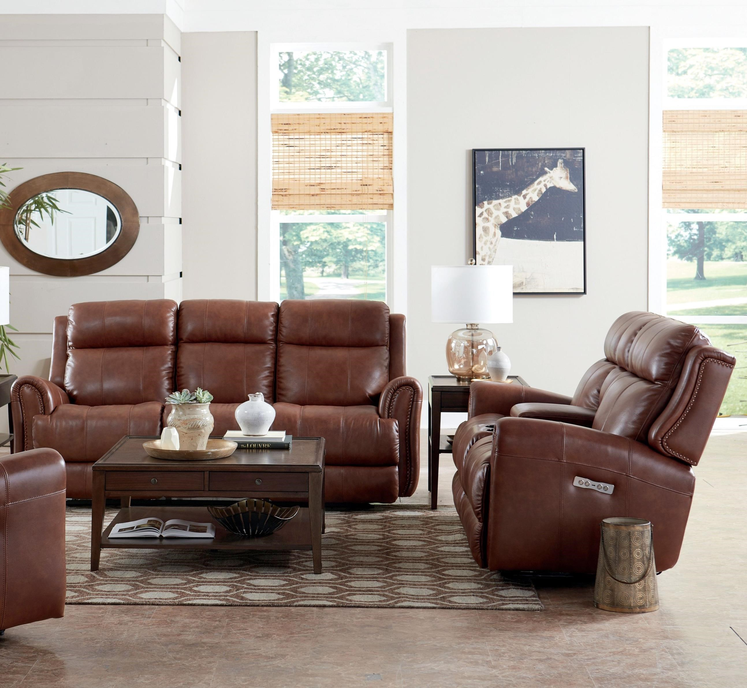 Marquee Reclining Living Room Group by Bassett at Crowley Furniture &  Mattress