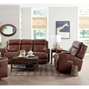 Bassett Marquee Reclining Living Room Group - Item Number: 3707 Living Room Group 2