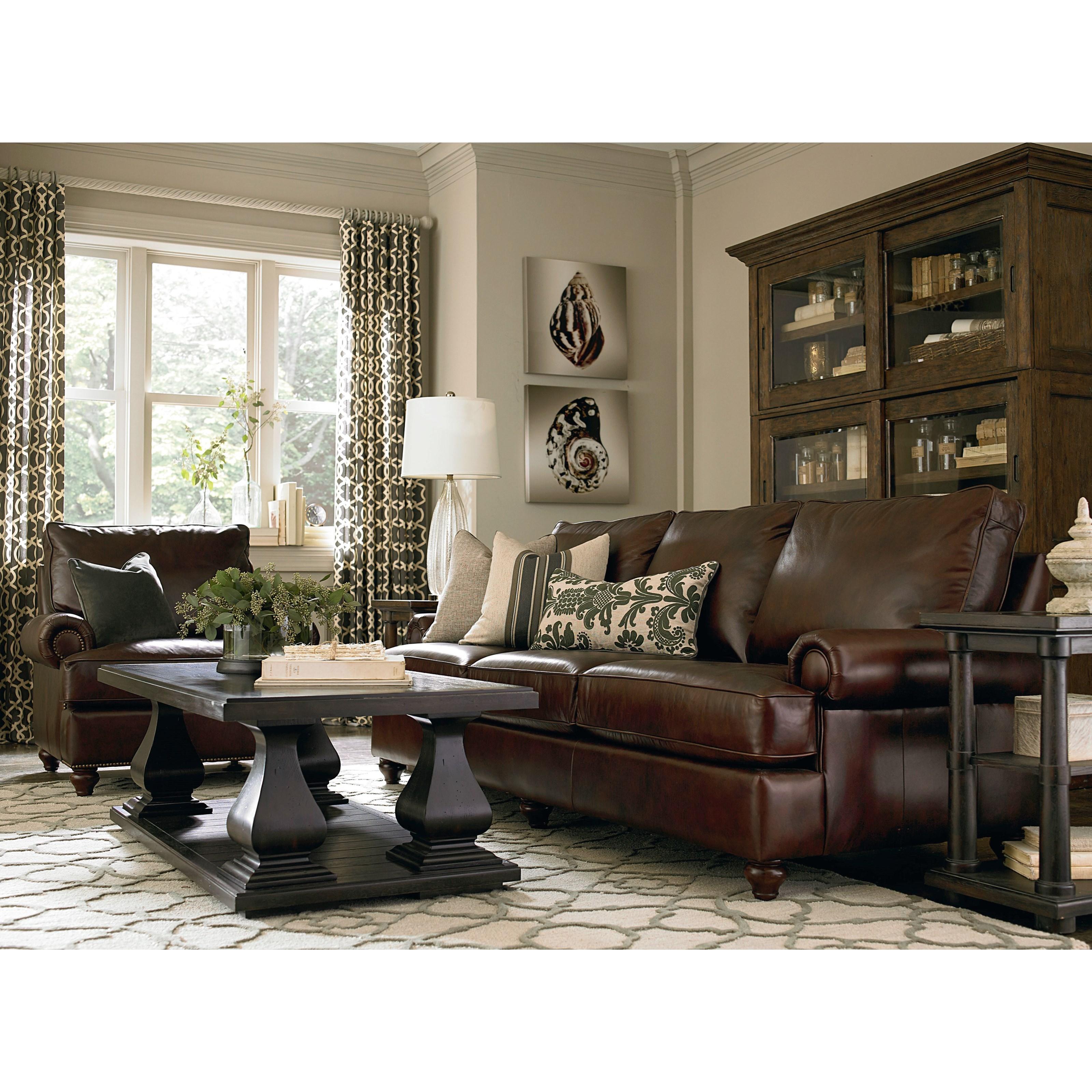 Bassett Montague Stationary Living Room Group