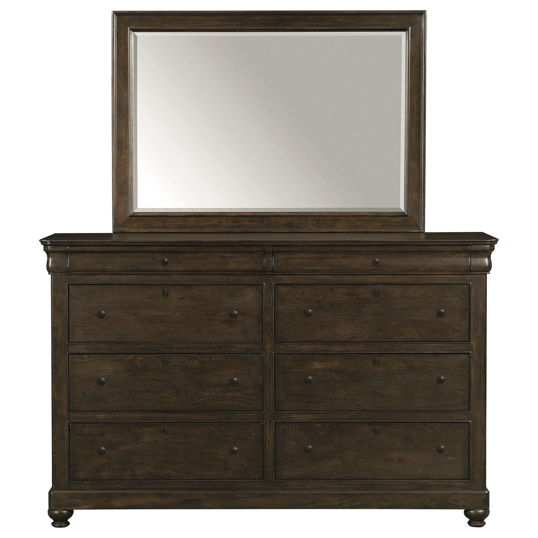 Bassett Provence 2479 0237 Dresser John V Schultz Furniture Dressers