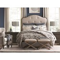Bassett Provence King Upholstered Bed - Bed Shown May Not Represent Size Indicated