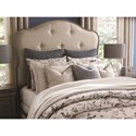 Bassett Provence California King Upholstered Bed - Bed Shown May Not Represent Size Indicated
