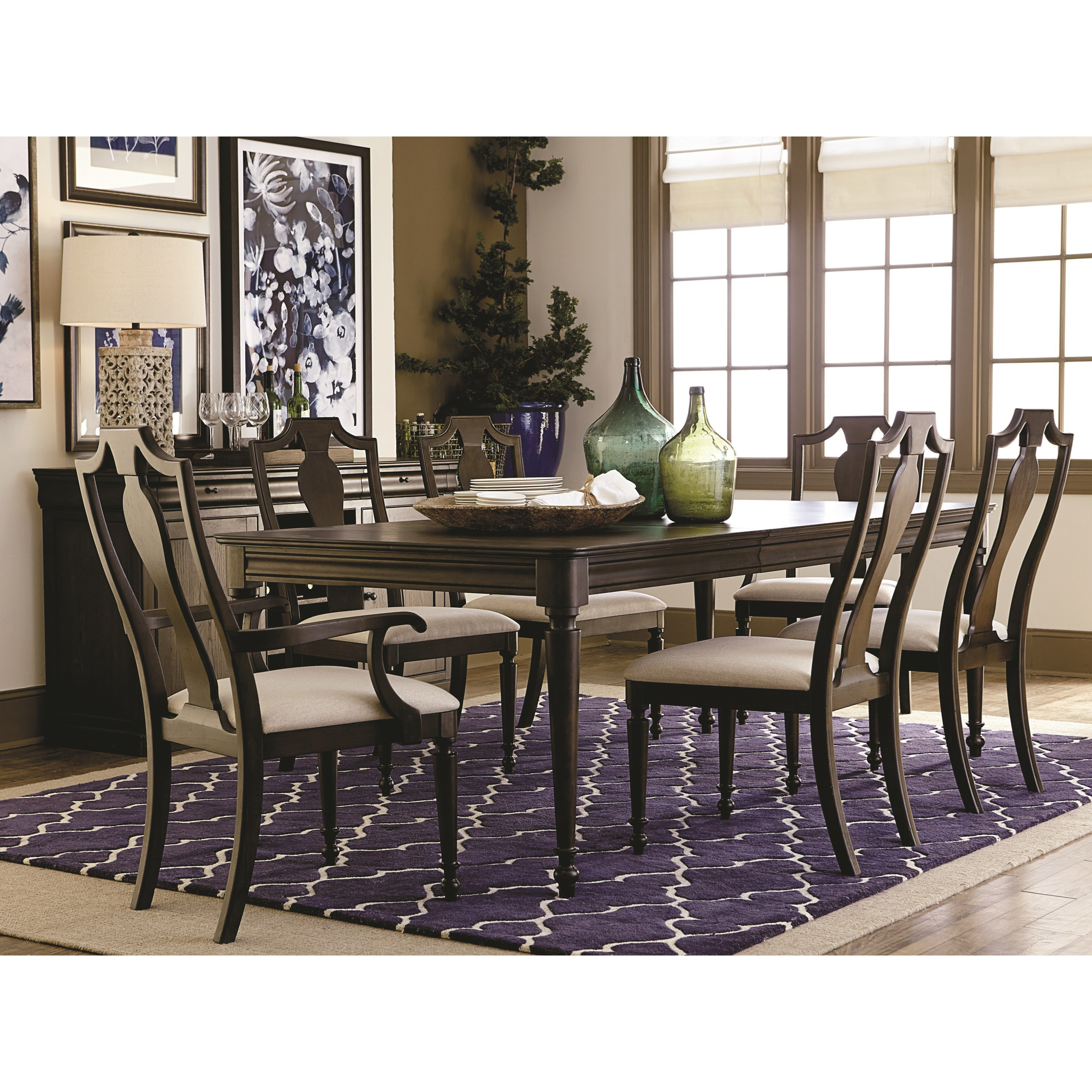 Bassett Dining Room Set: Bassett Provence Formal Dining Table And Chair Set