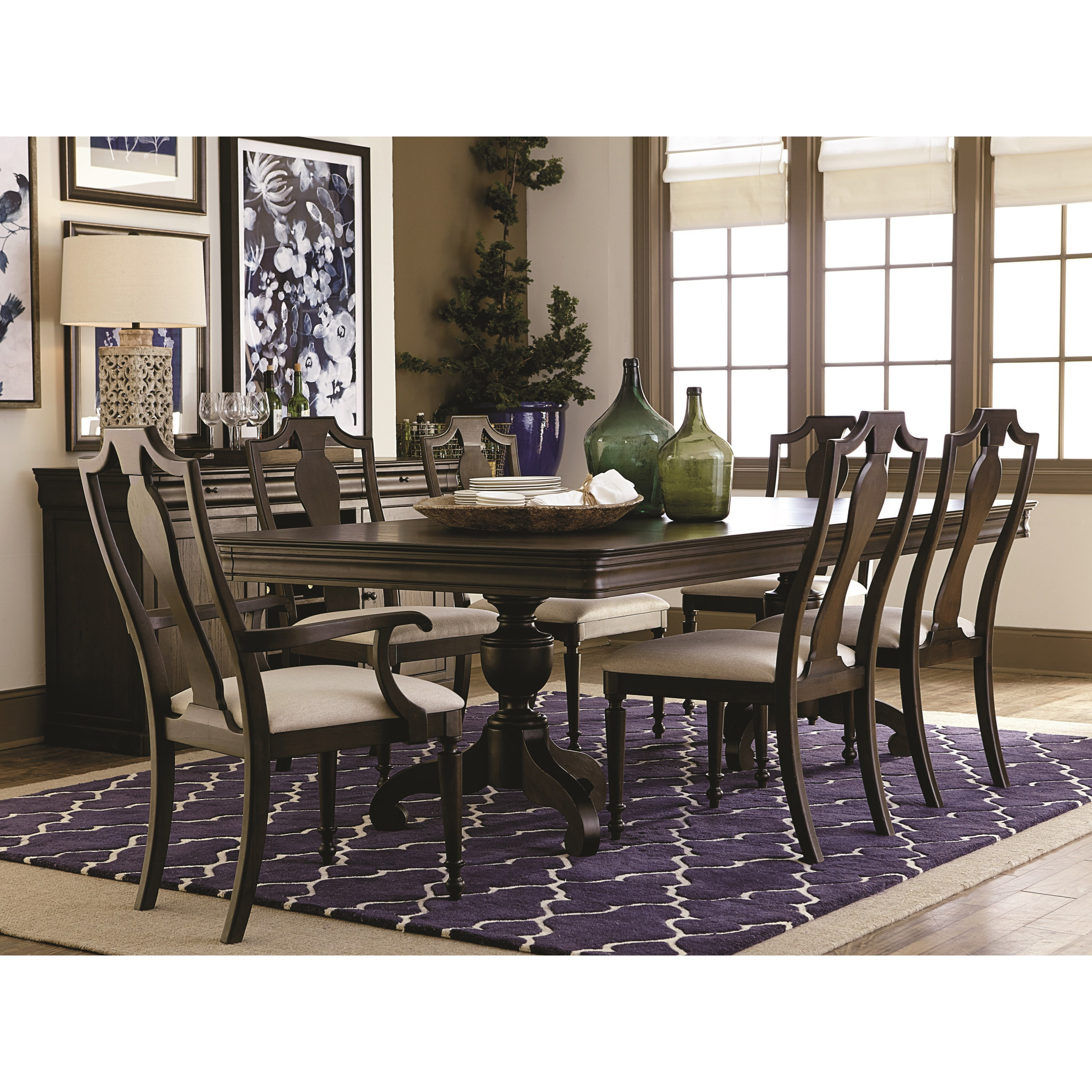 Bassett Dining Room Furniture: Bassett Provence Formal Dining Room Table And Chair Set