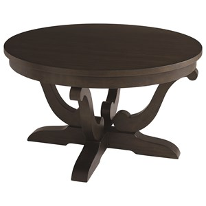 Bassett Provence Round Cocktail Table