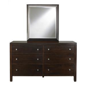 Bassett Redin Park Dresser and Landscape Mirror