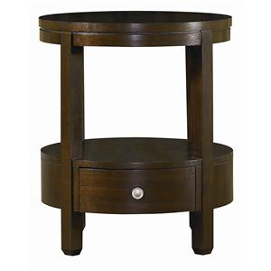 Bassett Redin Park Round Accent Table