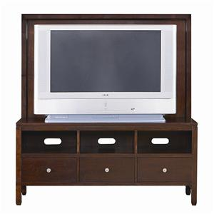 Bassett Redin Park Credenza with Back Panel
