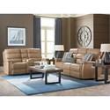 Bassett Regency - Club Level Reclining Living Room Group - Item Number: 3704 Living Room Group 2
