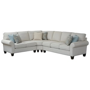 5-Seat Sectional Sofa w/ RAF Sofa