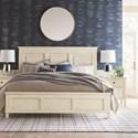 Bassett Shoreline King Panel Bed - Item Number: 2951-H169+F169+R169