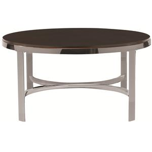 Bassett Sterling Round Cocktail Table