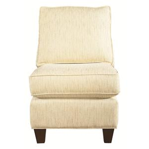 Bassett Custom Upholstery - Townhouse <b>Custom</b> Armless Chair