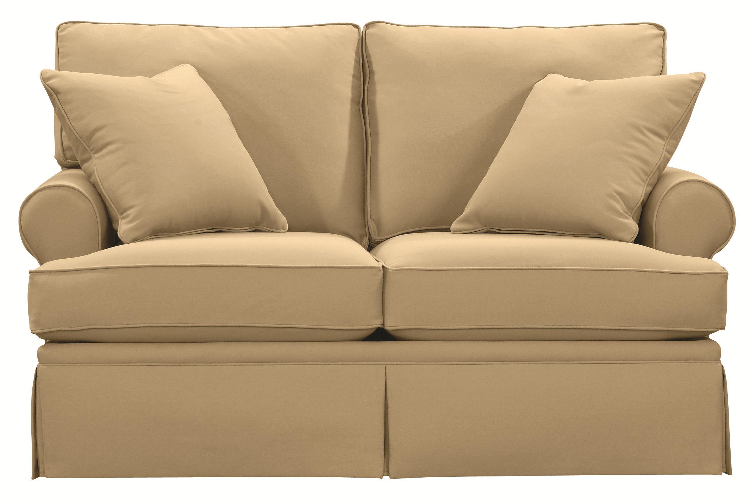 Bassett Custom Upholstery Townhouse B Customizable B Loveseat