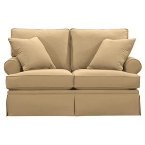 Bassett Custom Upholstery - Townhouse <b>Custom</b> Loveseat