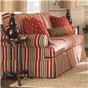 Bassett Custom Upholstery - Townhouse <b>Custom</b> Queen Sleeper - Item Number: 4000-7QT 3