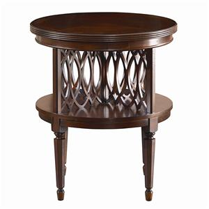 Bassett Woodberry Round Book Table
