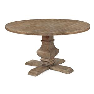 Bassett Mirror Belgian Luxe Kinzie Round Dining Table