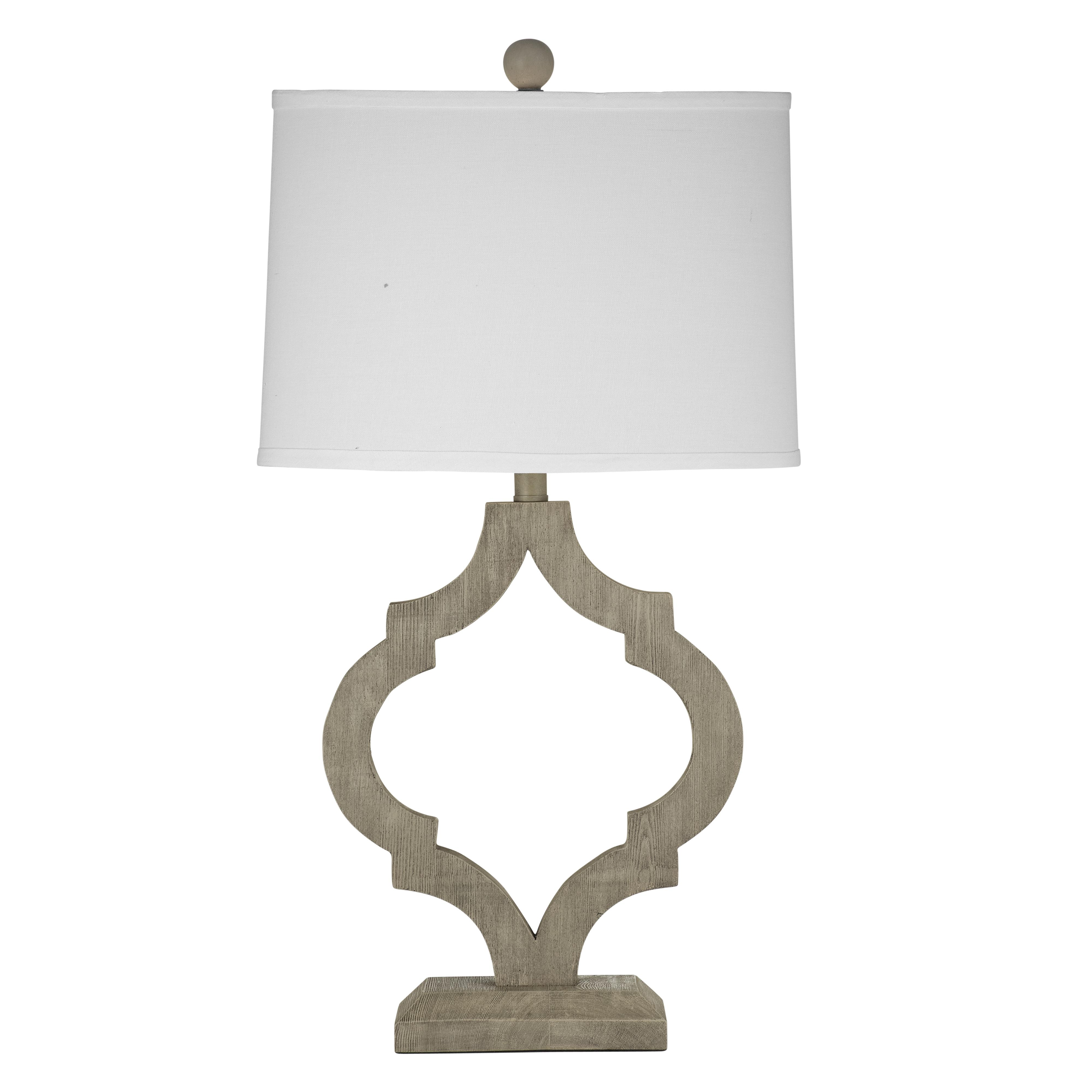 Belgian Luxe Denton Table Lamp by Bassett Mirror at Alison Craig Home Furnishings