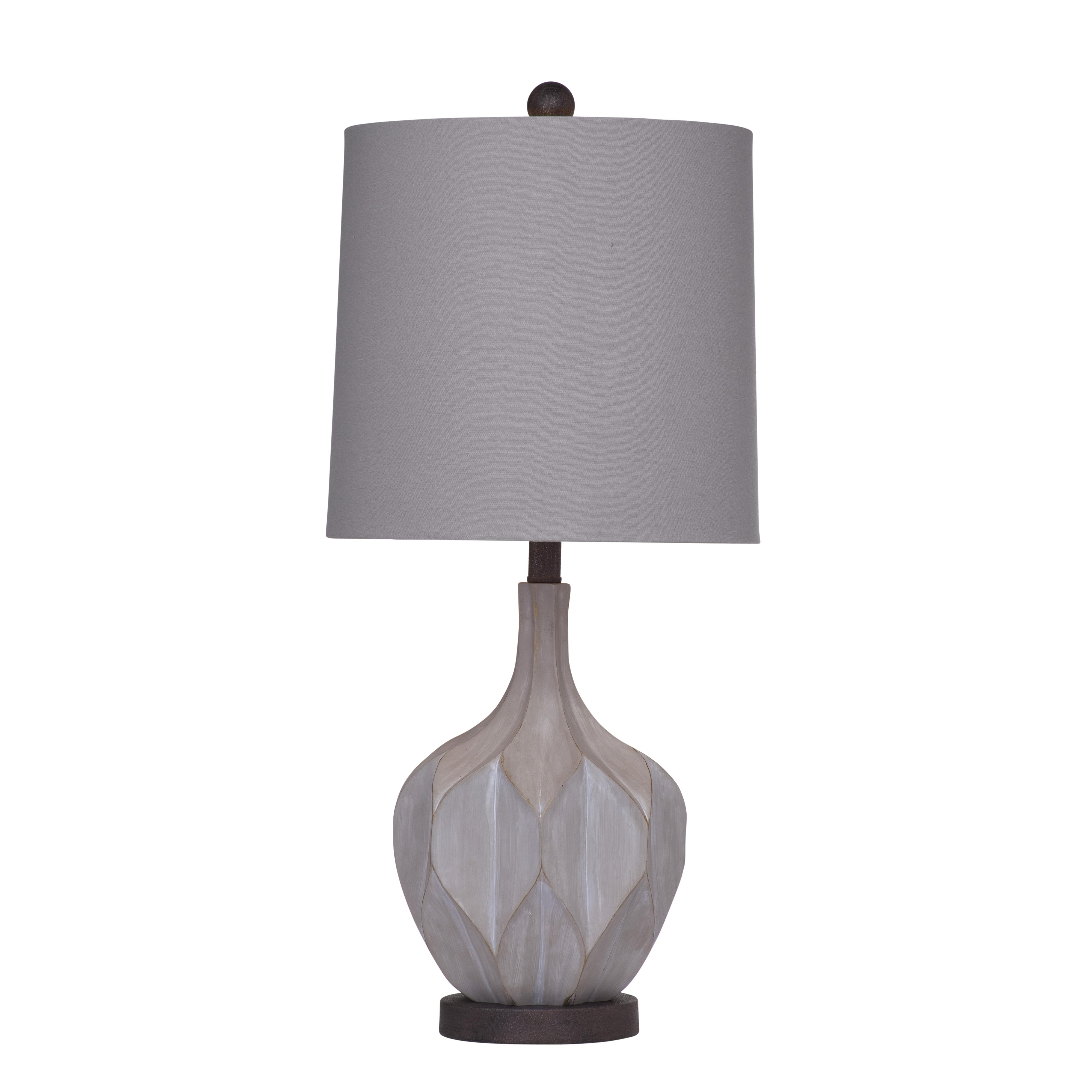 Belgian Luxe Lansing Table Lamp by Bassett Mirror at Alison Craig Home Furnishings