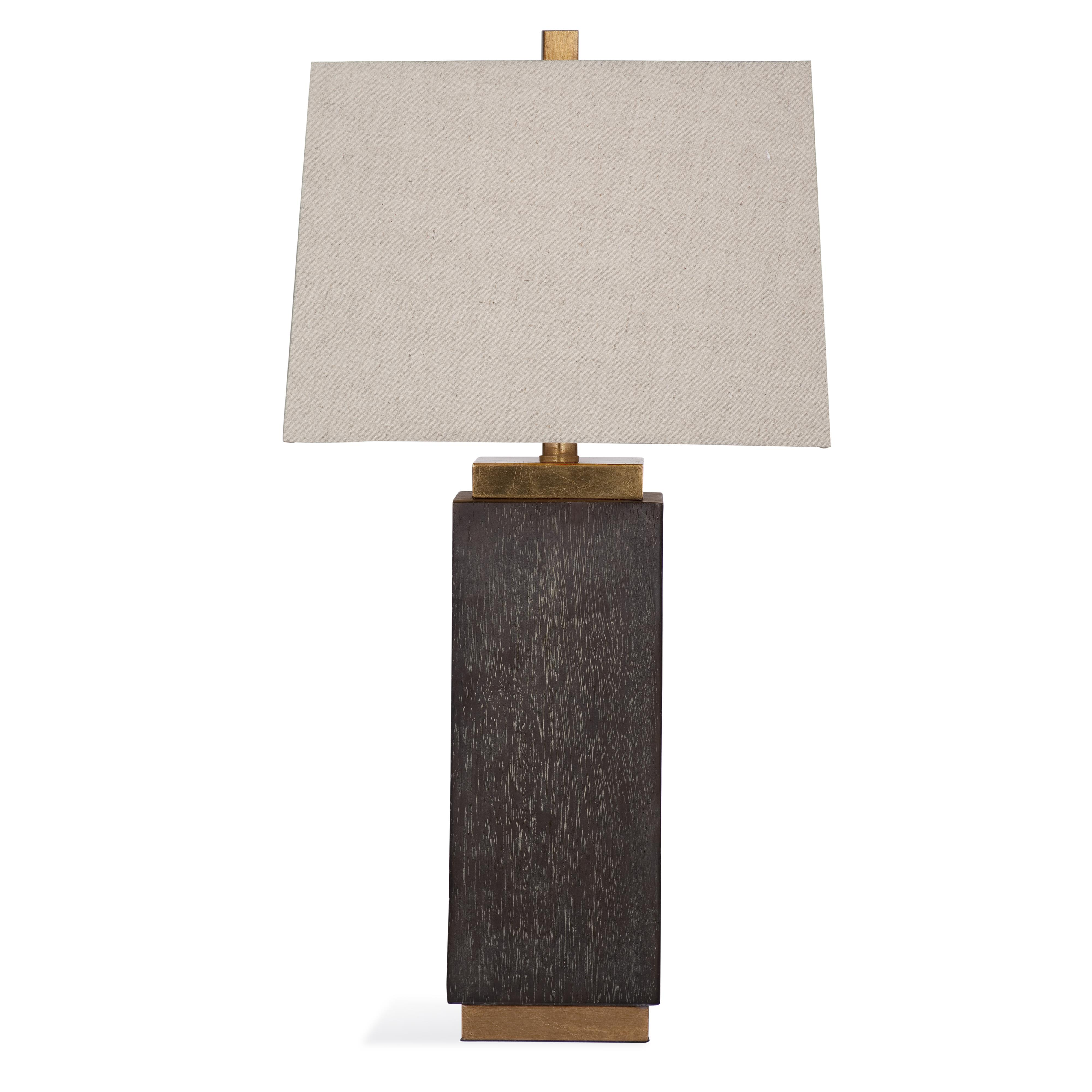 Belgian Luxe Haskell Table Lamp by Bassett Mirror at Alison Craig Home Furnishings
