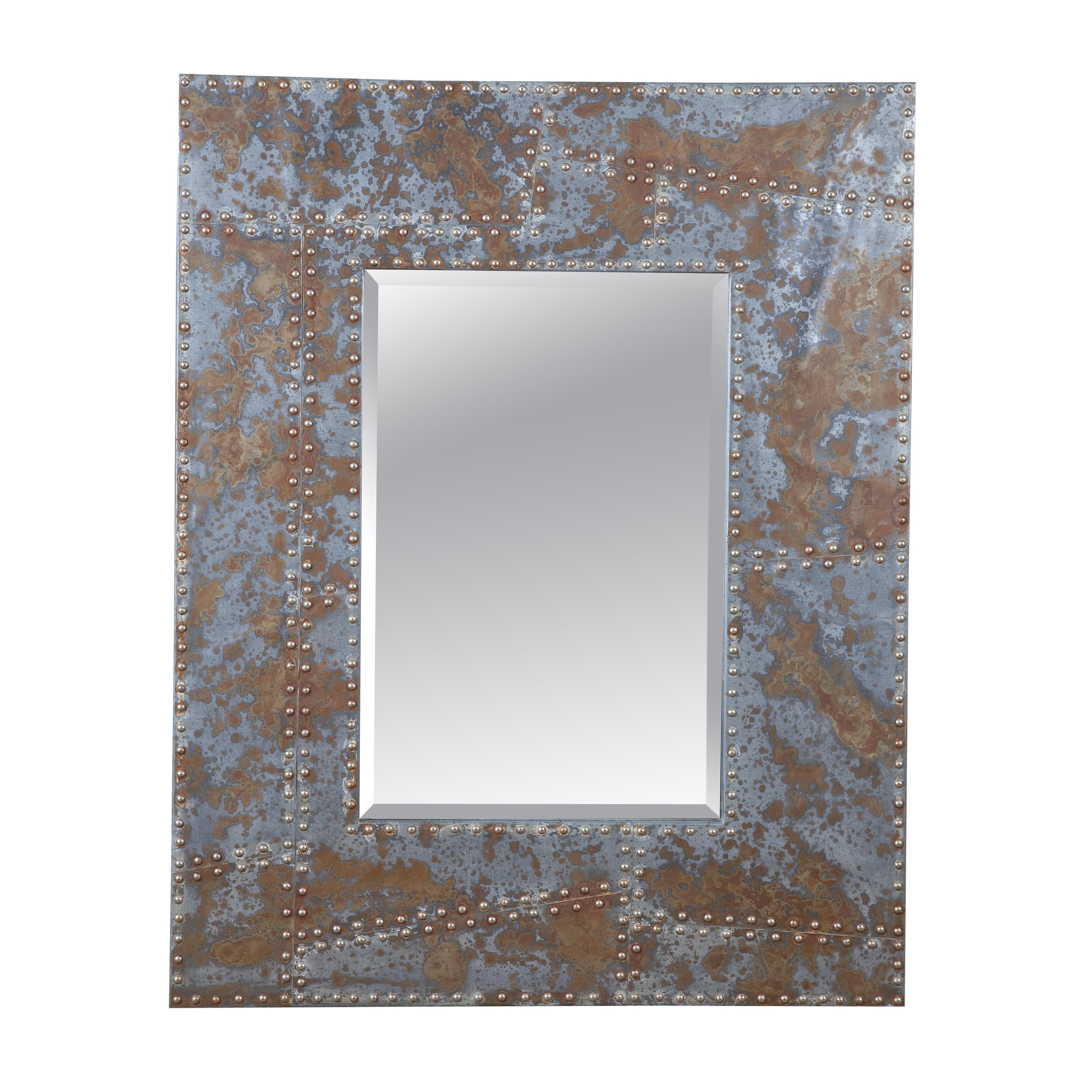 Belgian Luxe Newton Wall Mirror by Bassett Mirror at Alison Craig Home Furnishings