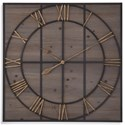 Bassett Mirror Belgian Luxe Eldridge Wall Clock - Item Number: MC4019