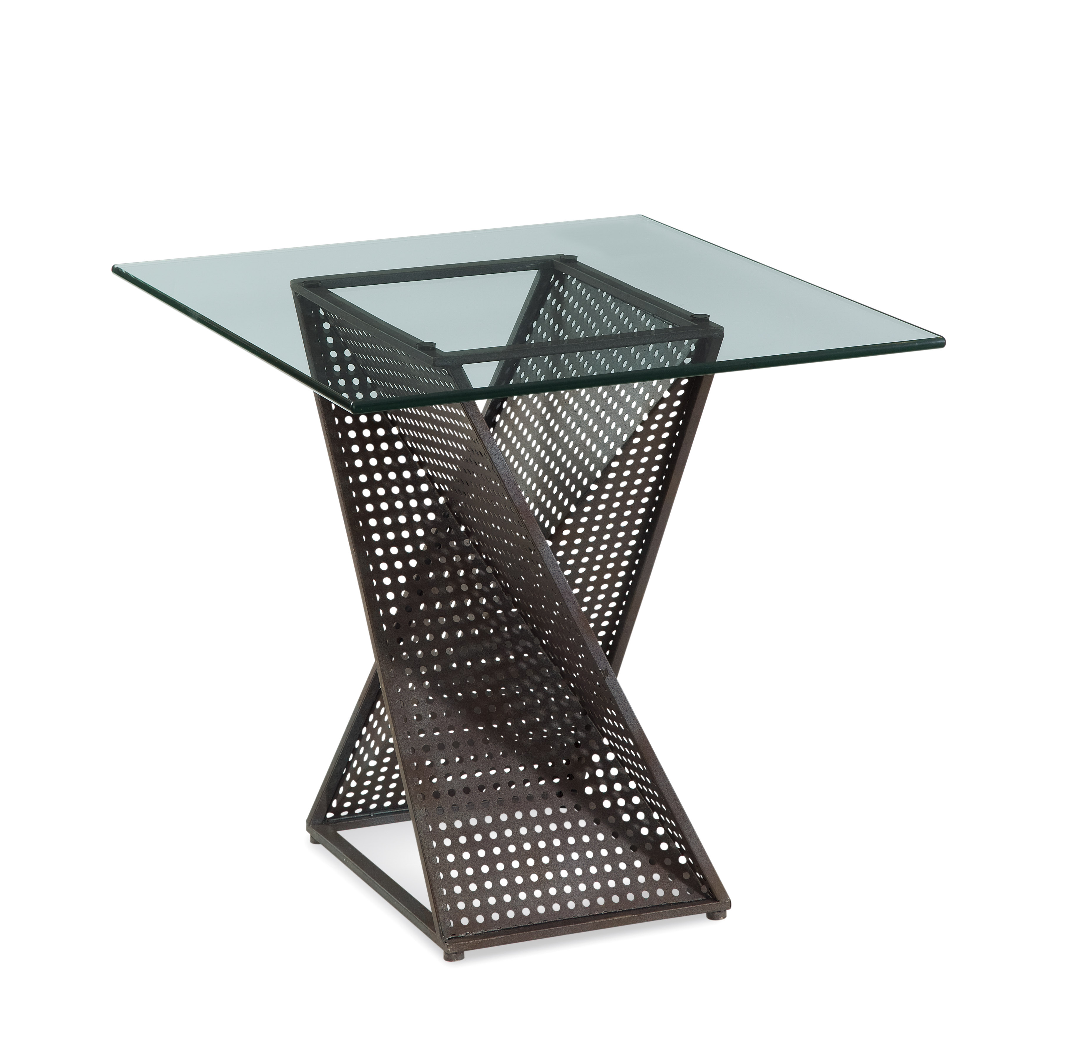 Belgian Luxe Bolton End Table by Bassett Mirror at Alison Craig Home Furnishings