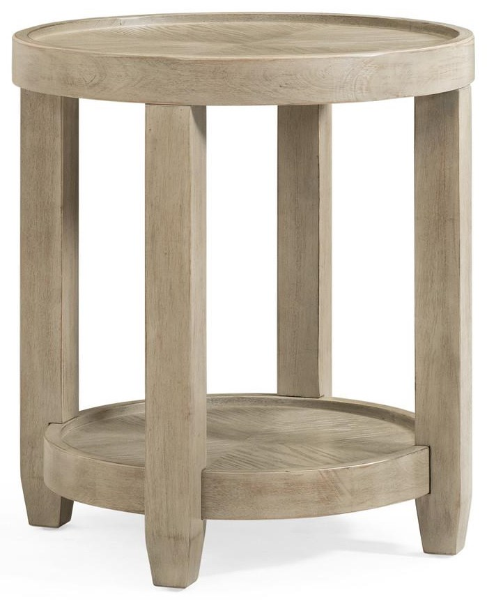 Bellamy Round End Table by Bassett Mirror at Johnny Janosik