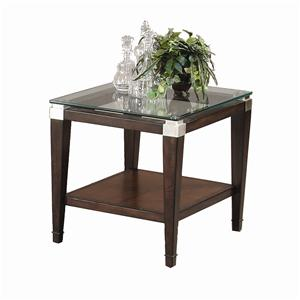 Bassett Mirror Dunhill Rectangle End Table
