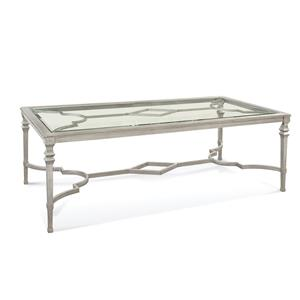 Bassett Mirror Hollywood Glam Sylvia Dining Table