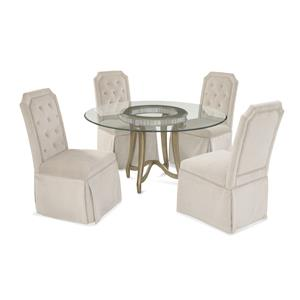 Bassett Mirror Hollywood Glam Celine Casual Dining Set