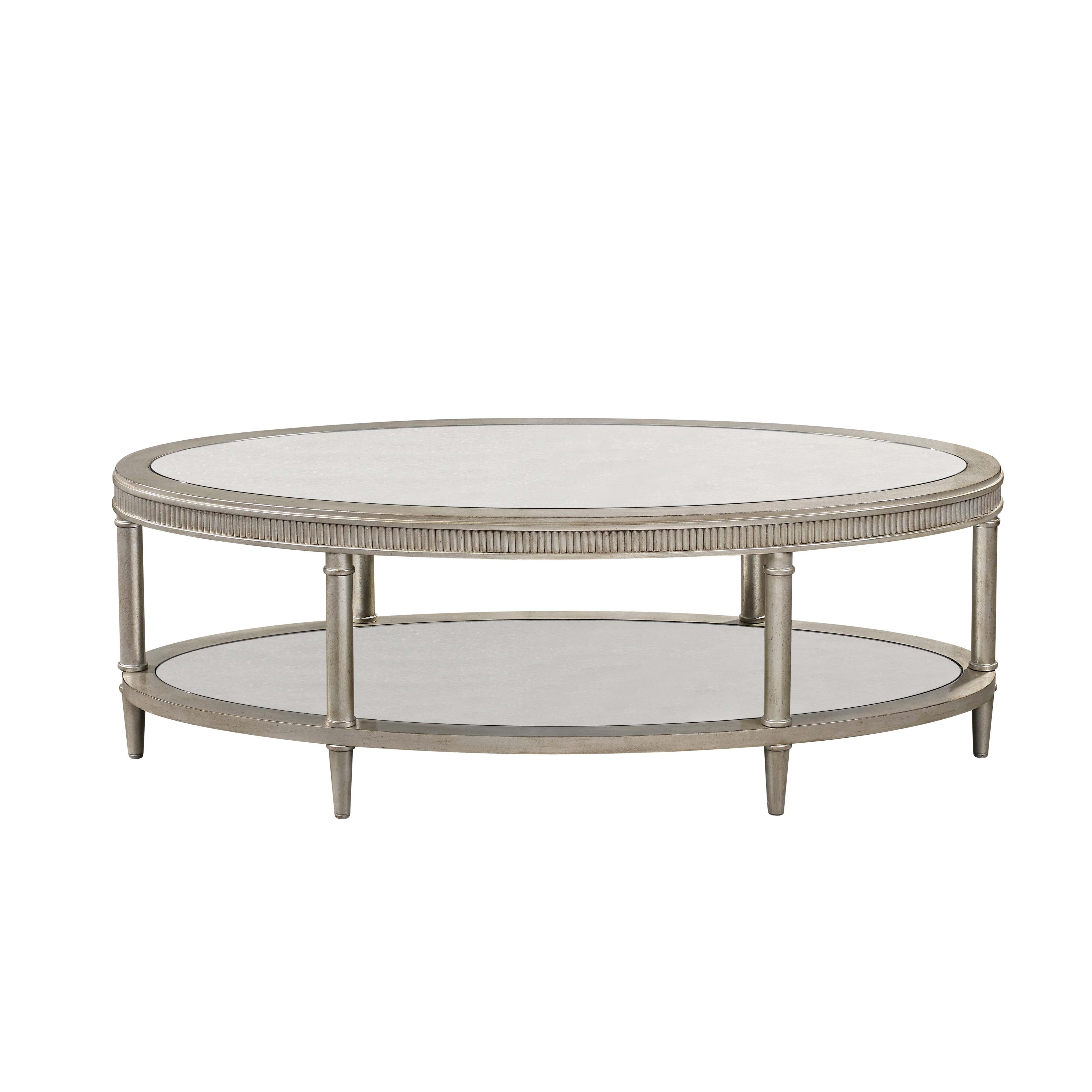 Vanesta Oval Cocktail Table