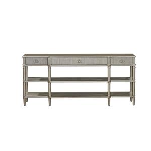 Bassett Mirror Hollywood Glam Vanesta Breakfront Console