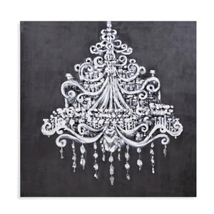Bassett Mirror Hollywood Glam Dramatic Chandelier