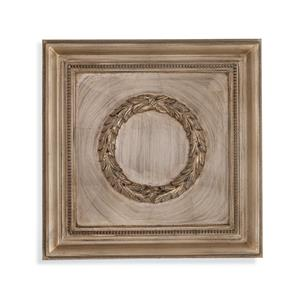 Bassett Mirror Hollywood Glam Laurel Wreath Wall Medallion