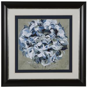 Bassett Mirror Hollywood Glam Elegant Hydrangeas I