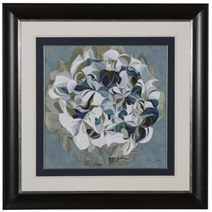 Bassett Mirror Hollywood Glam Elegant Hydrangeas II