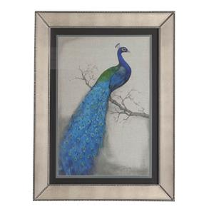 Bassett Mirror Hollywood Glam Peacock Blue I