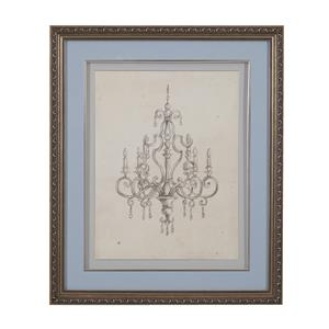 Bassett Mirror Hollywood Glam Classical Chandelier III